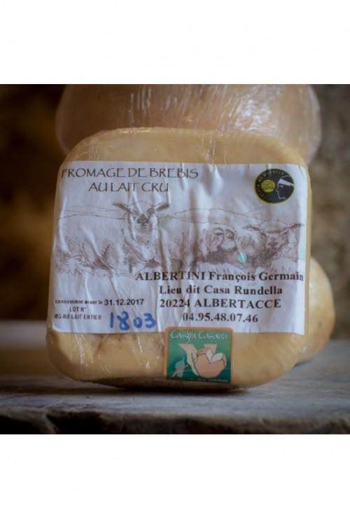 Albertini (fromage brebis du Niolu)
