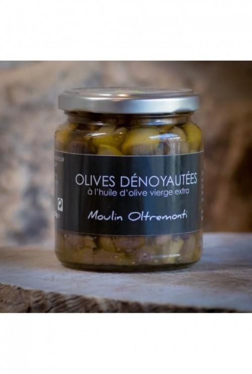 Olives denoyautées (Domaine Oltremonti) 250 gr
