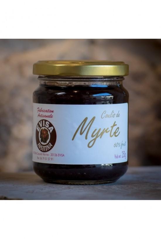 Coulis de myrte (Insitina, Marina Ceccaldi, Evisa) 250 gr
