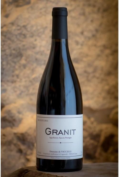 Domaine Vacelli Granit rouge 2015