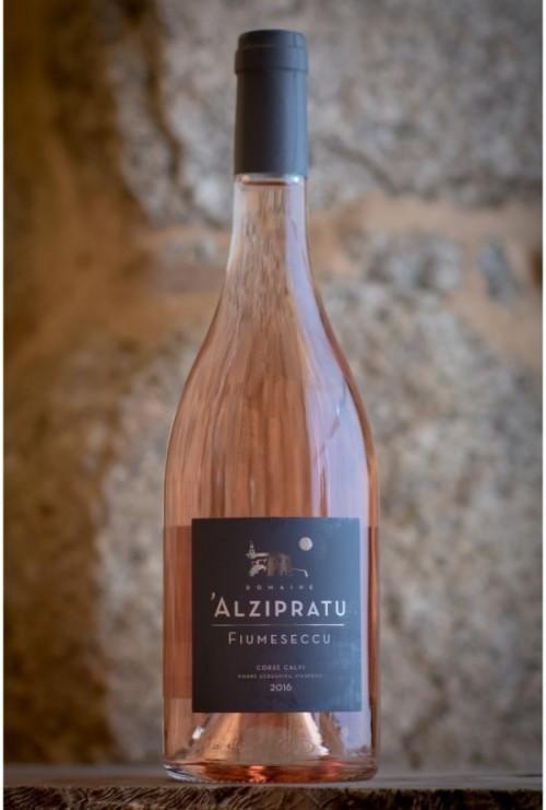 Domaine Alzipratu Fiumesecu rosé 2017
