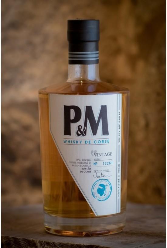 Whisky P&M vintage (Domaine Mavela) 70cl