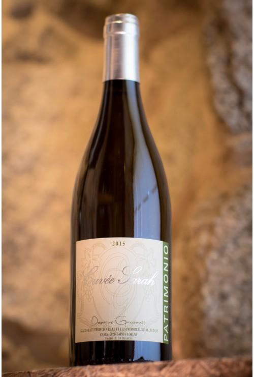 Domaine Giacometti Cuvée sarah blanc 2017