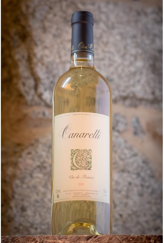 Clos Canarelli Bianco gentile (BG) 2019