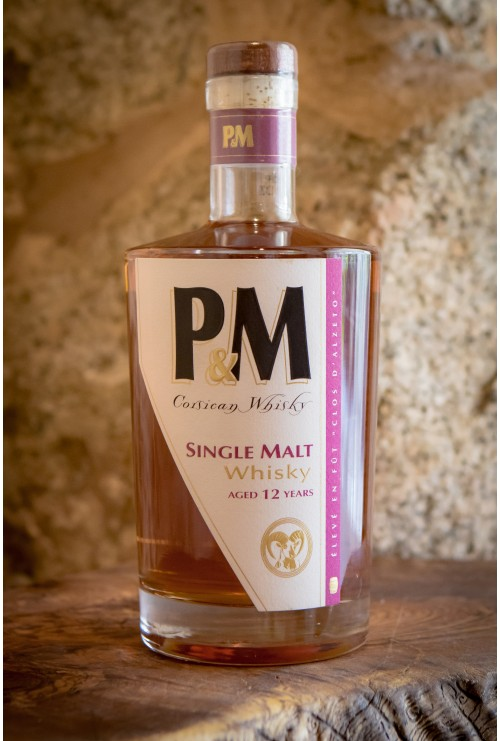 Whisky P&M Single malt 12 ans