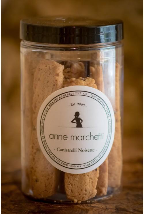 Canistrelli noisettes (Anne marchetti, Biscuiterie fine)