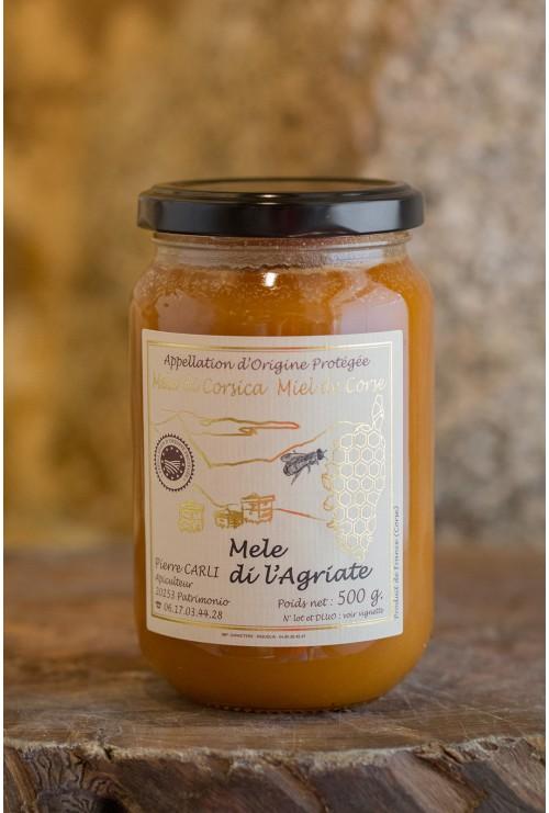 Mele di L'Agriate 500 gr, Pierre Carli, apiculteur récoltant