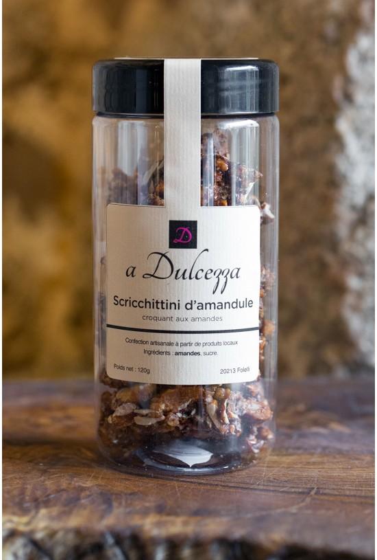 Croquants aux amandes et écorces d'oranges (A Dulcezza)